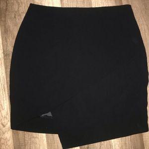 ASTR slit high waisted skirt